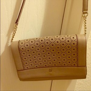 Kate Spade Nude Beige Crossbody Used Condition